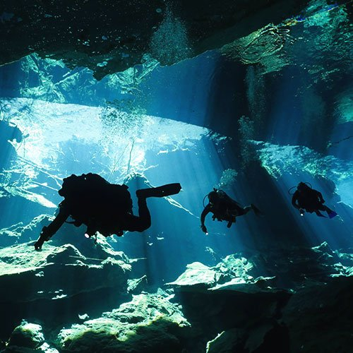 faq cavern diving in cenotes
