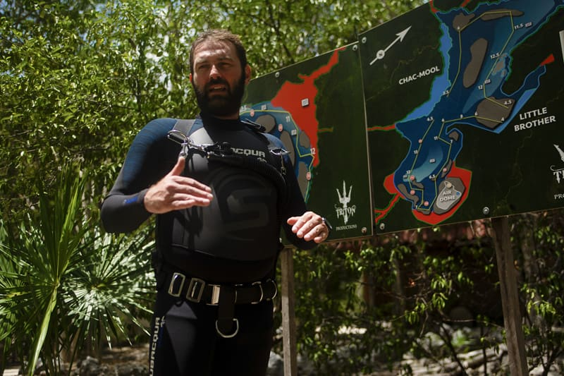 Cenote Diving Experience in Mexico