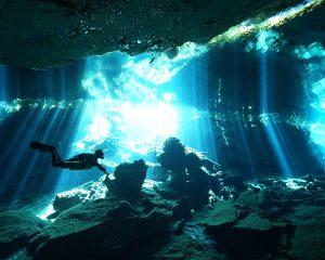 Enjoy Cenote diving in Kukulkan